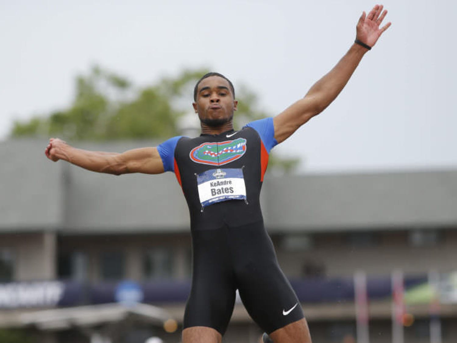 Senior KeAndre Bates is the reigning national champion in both the triple jump and the long jump. Bates will defend his title this week at the NCAA Outdoor Championships in Eugene, Oregon, starting Wednesday.