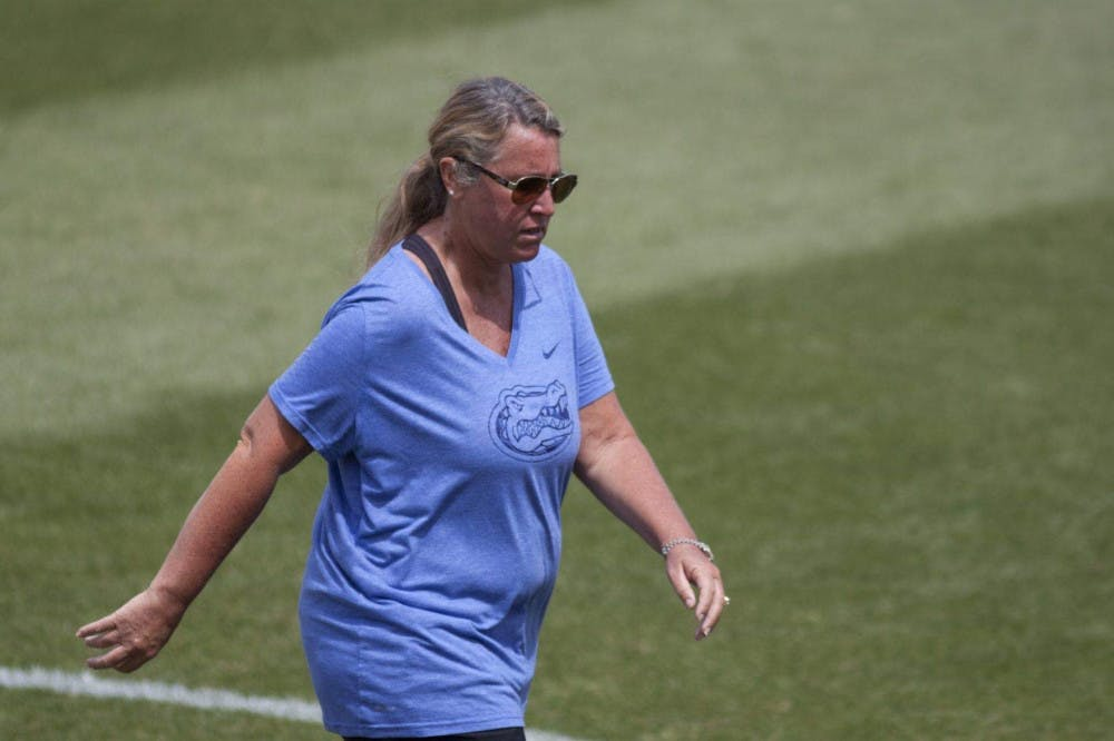 """<p dir=""""ltr""""><span>Florida coach Amanda O'Leary (pictured) and the Gators lacrosse team return to Donald R. Dizney Stadium to face their fifth ranked opponent of the season.</span></p><p><span></span></p>"""