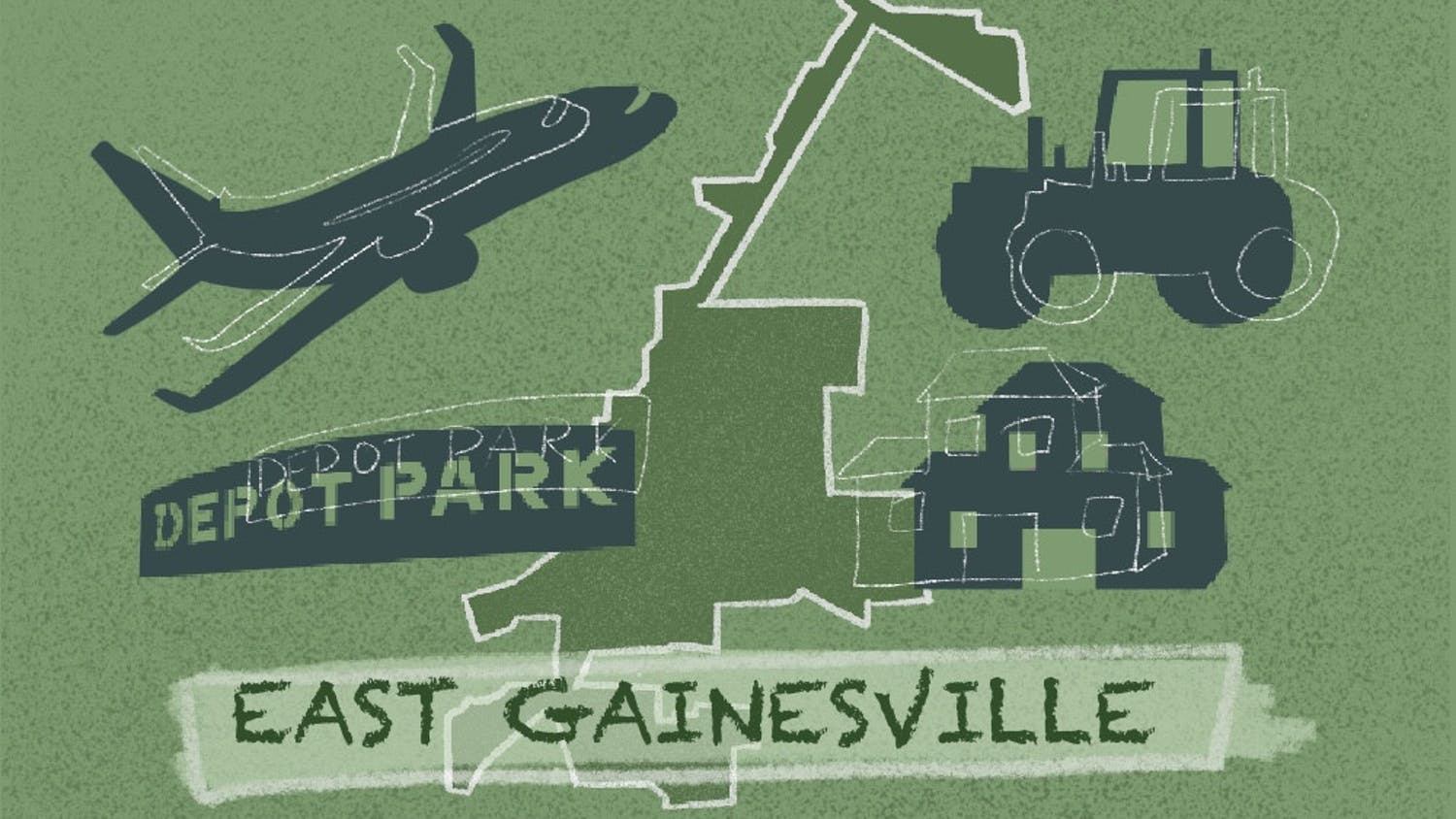 East Gainesville landmarks