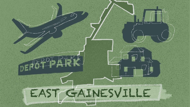 East Gainesville landmarks