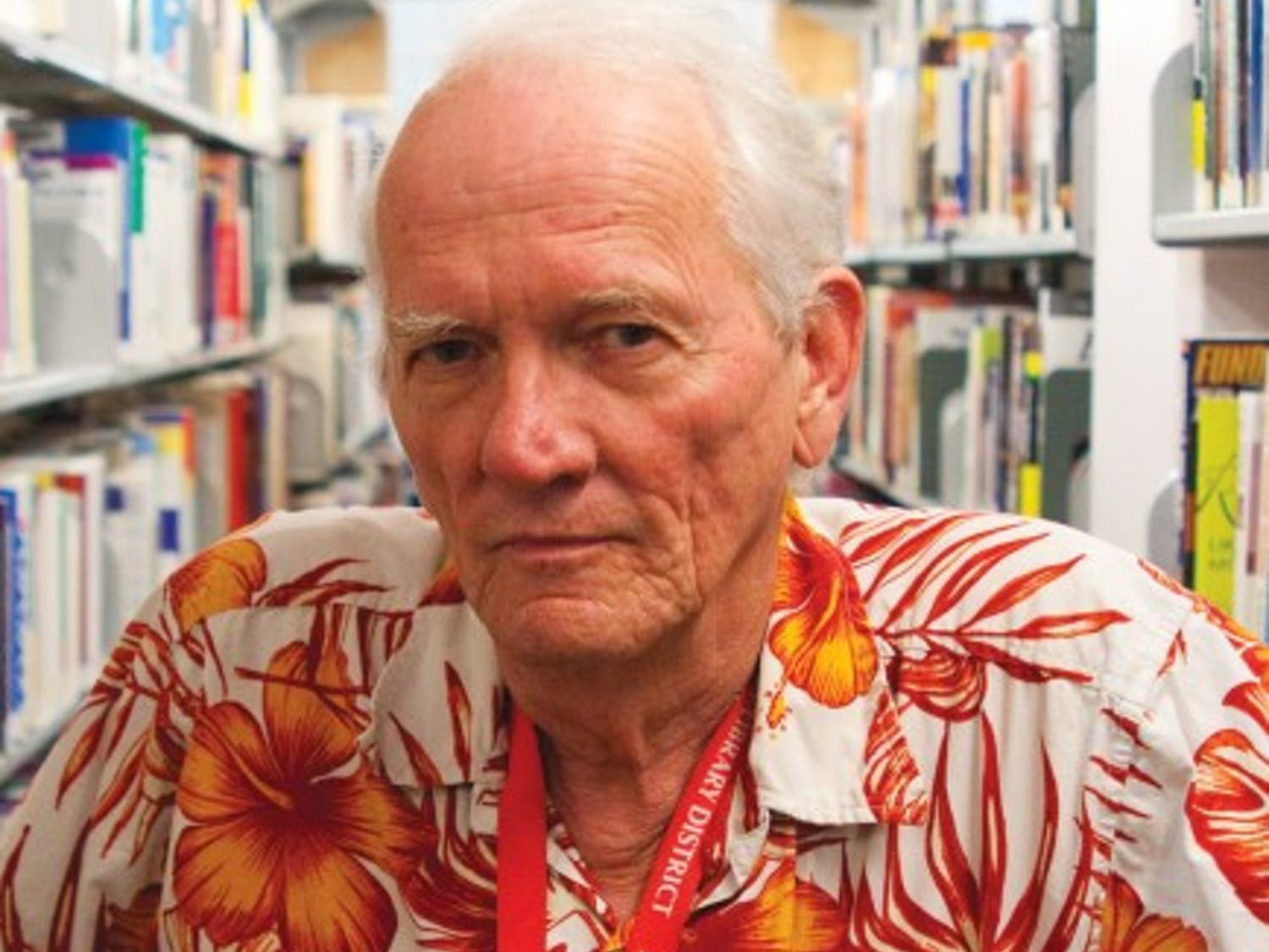 Al Martin, 69, is a librarian at Alachua County Tower Road Branch Library. Martin was one of the eight people chosen to receive a Carol Combs Hole Award for his work with non-native English speakers.
