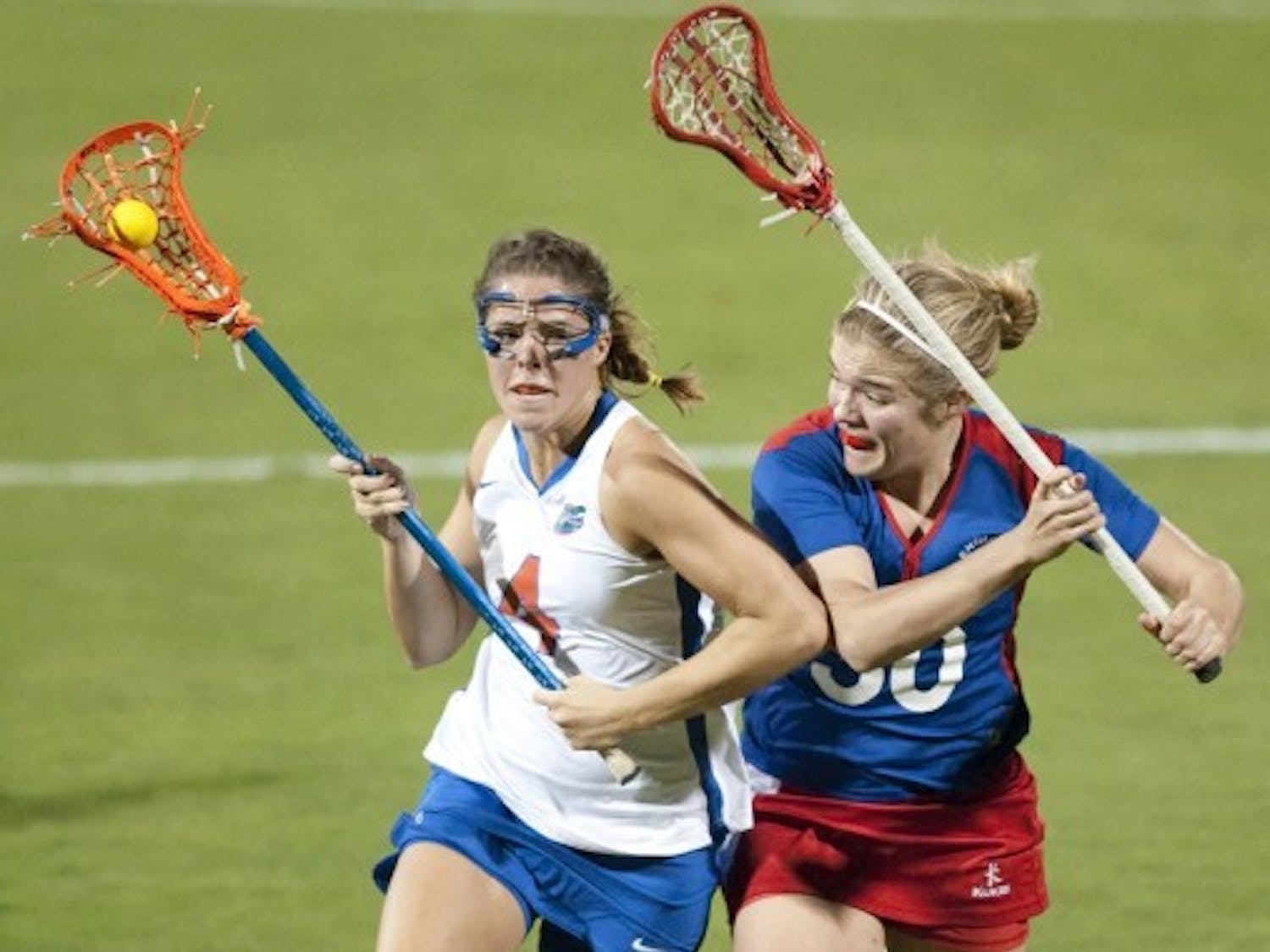 Florida junior attacker Kitty Cullen highlighted UF's success in yellow-card situations with a man-down goal Sunday against Maryland-Baltimore County.