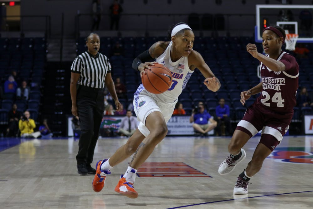 """<p dir=""""ltr""""><span>Florida guard Delicia Washington is expected to return for Thursday's game against Tennessee. She took a hit to the head against Mississippi State on Jan. 24 that forced her to sit out a game as she went through concussion protocol.</span></p><p><span></span></p>"""