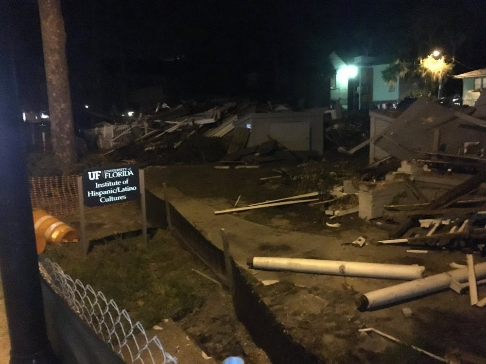 """<p><span id=""""docs-internal-guid-50ceb2cc-002f-8dcc-21b9-de9f761462a8""""><span>The Institute of Hispanic and Latino Culture, known as La Casita, and the Institute of Black Culture were demolished Saturday for reconstruction.</span></span></p>"""