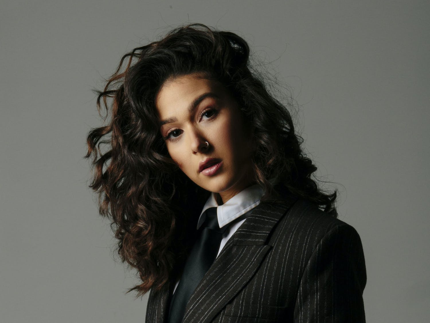 """Latin Grammy-winning singer Nella appeared at the Phillips Center Friday to perform in the """"UpStage at the Phillips Center"""" series."""