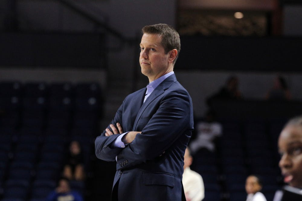 """<p>Coach Cameron Newbauer said even with mounting loses, he's happy with the mentality of his team.<span id=""""docs-internal-guid-8b35cfa8-8f73-3a32-4b9b-34c8202a2ef9""""><span>""""They've bought into just being the best we can every moment and not playing the scoreboard,"""" he said.</span></span></p>"""