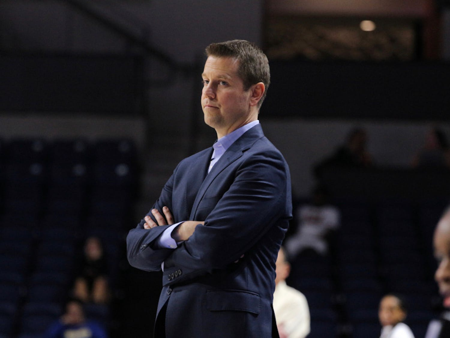 """Coach Cameron Newbauer said even with mounting loses, he's happy with the mentality of his team.""""They've bought into just being the best we can every moment and not playing the scoreboard,"""" he said."""