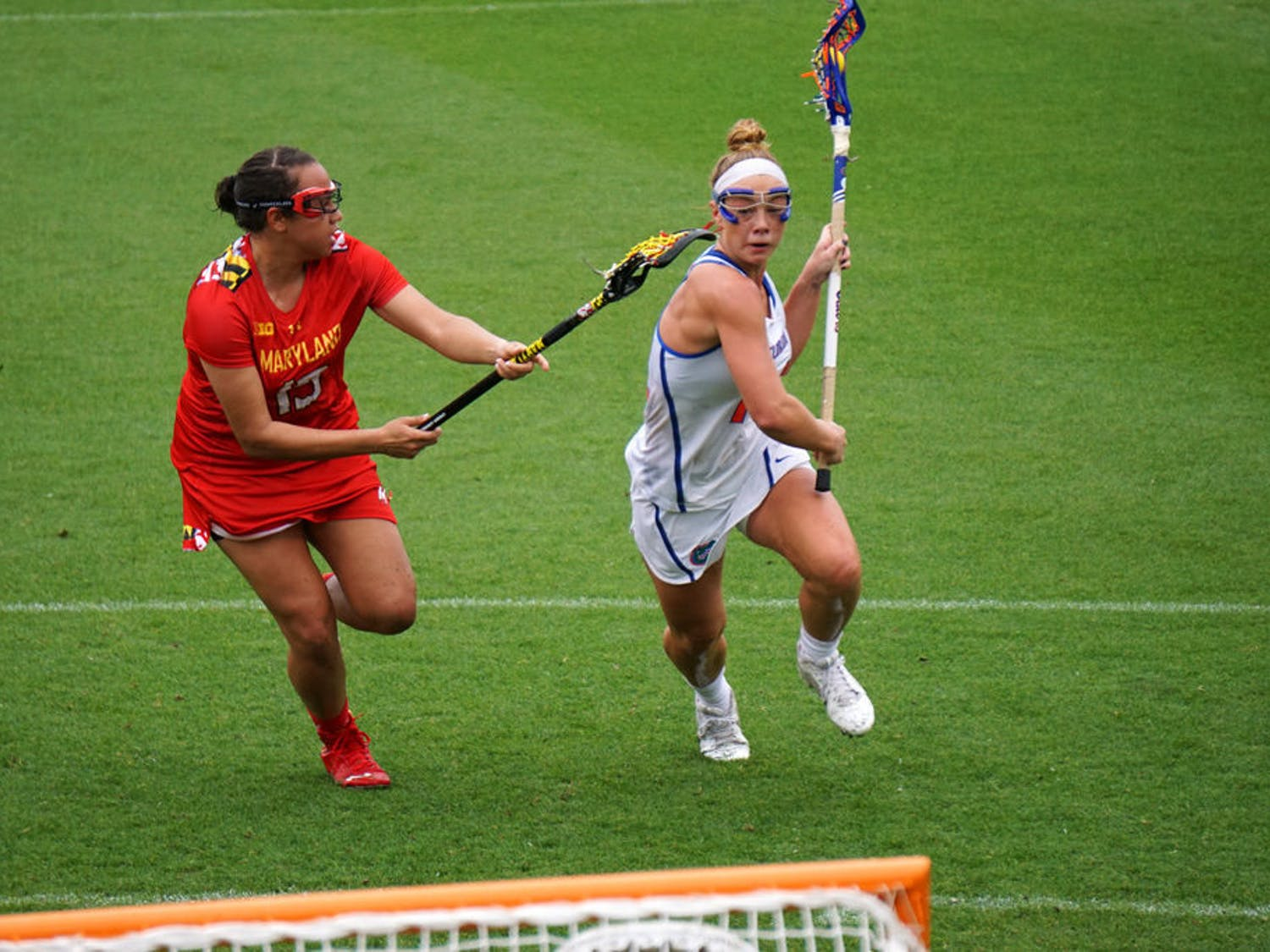 Attacker Lindsey Ronbeck returned to the Gators' lineup after missing the last three games.