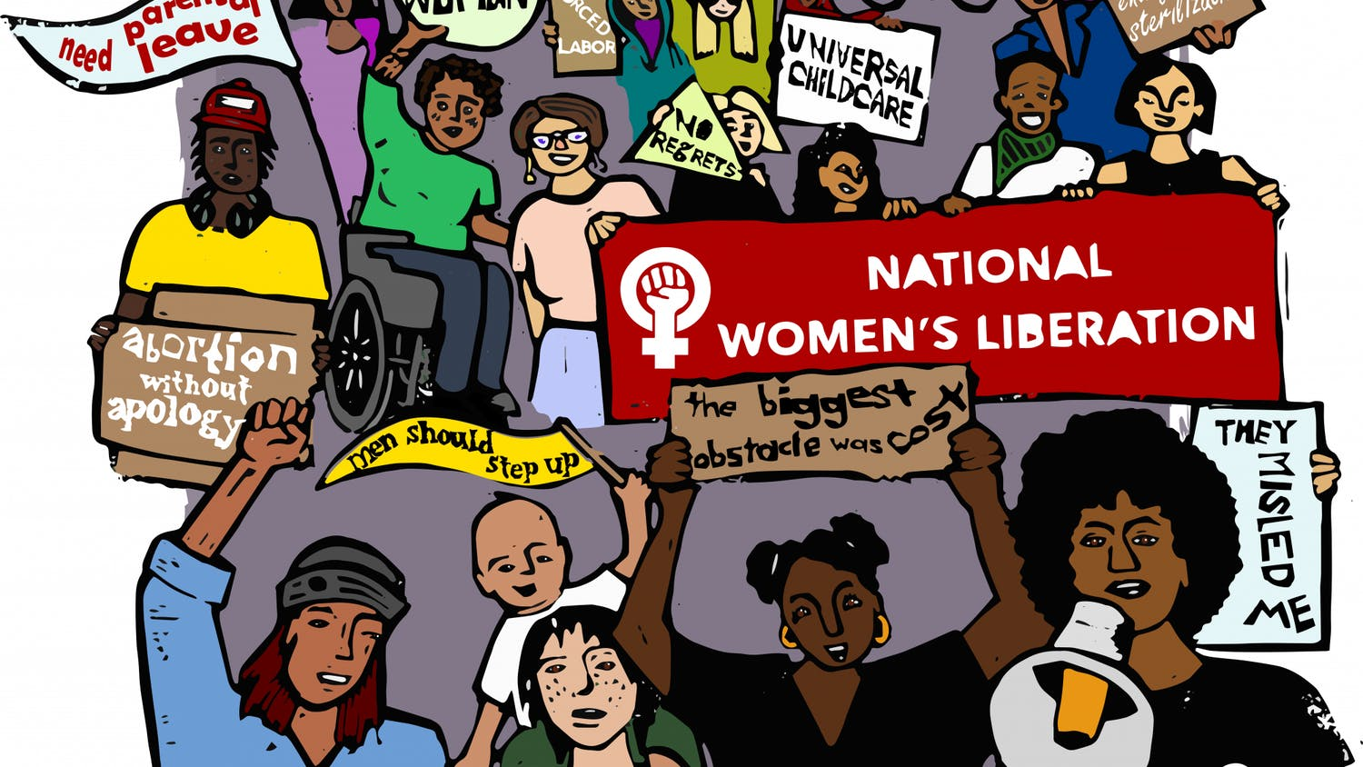 """""""Gainesville has a really proud, awesome history as the first place to have an organized feminist group in the South,"""" NWL organizer Brooke Eliazar-Macke said."""