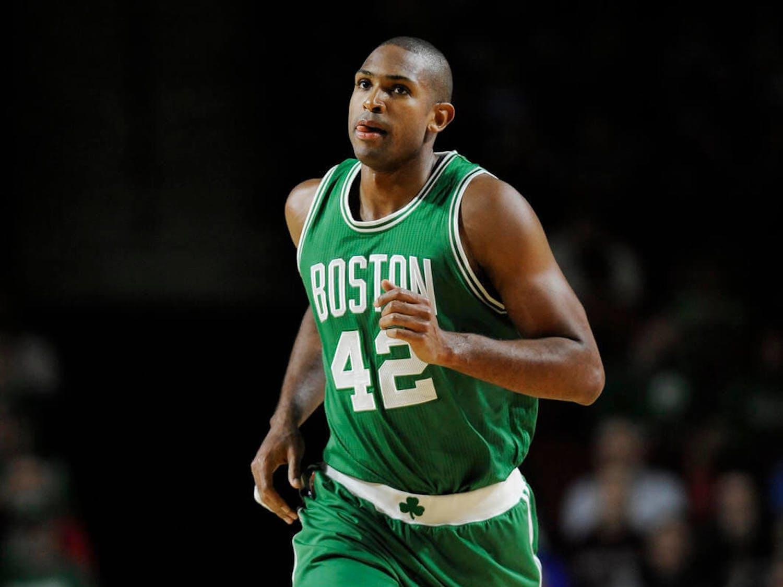 Boston Celtics forward Al Horford is averaging 13.5 points per game this season.
