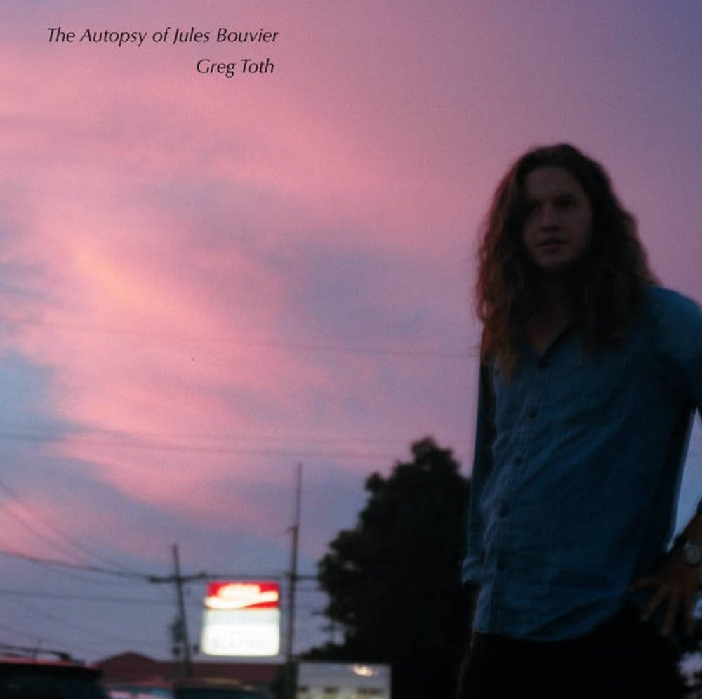 "Toth's latest album, ""The Autopsy of Jules Bouvier,"" was released Aug. 18 and reflects a guitar blues influence."