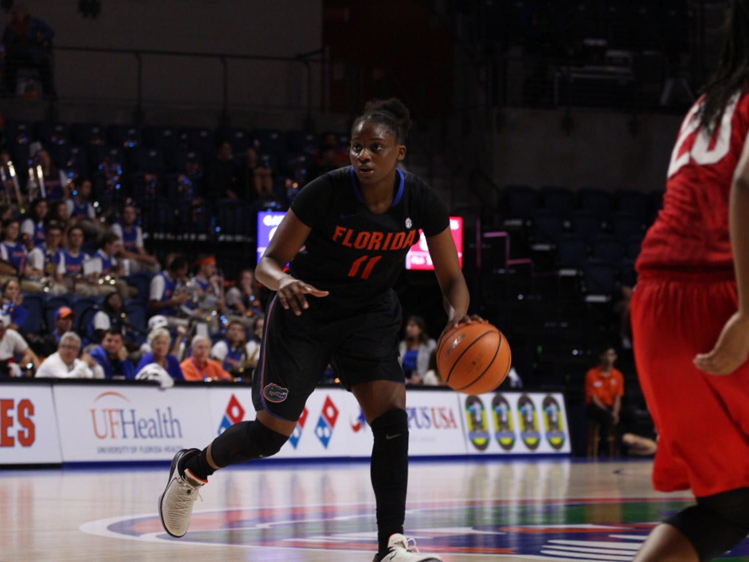Dyandria Anderson scored 12 points, including the final bucket in regulation, in a double-overtime thriller against Ole Miss.
