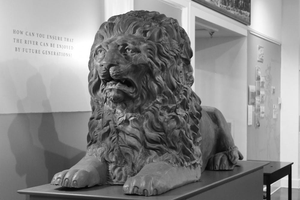 """<p dir=""""ltr""""><span>The Matheson History Museum recently held a contest to decide a name for """"Lion A,"""" which used to be a part of the 1885 Alachua County Courthouse. After more than 100 years, he was finally given the name """"General Gaines.""""</span></p><p><span></span></p>"""