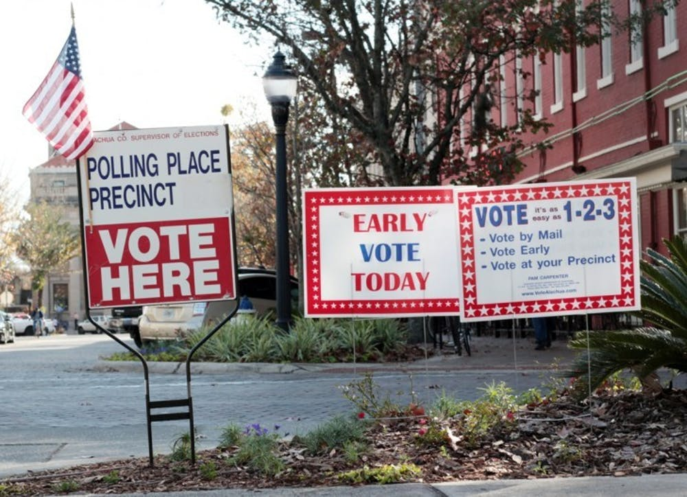 <p>UF College Democrats is offering voters free rides to polling locations, including the Supervisor of Elections County Administration building at 12 SE First St., for the Gainesville city elections on Jan. 31.</p>