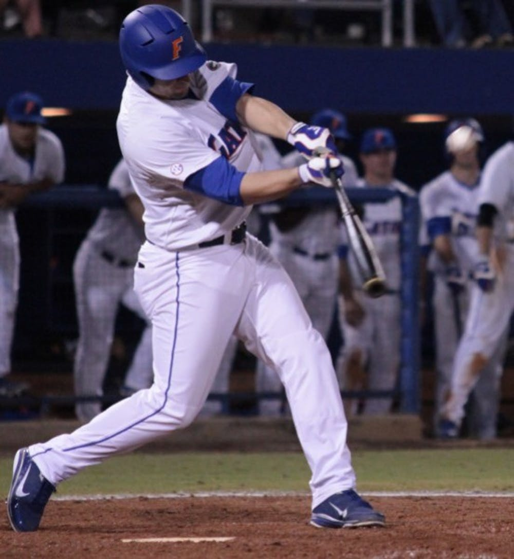 <p>Florida catcher Mike Zunino hit two home runs in Tuesday's 8-6 win.</p>