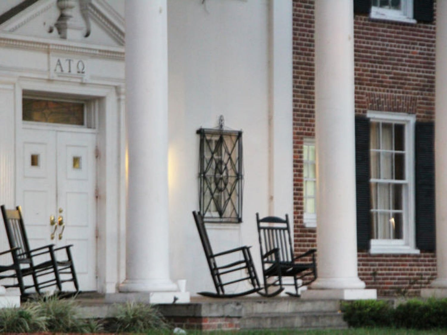 UF's chapter of Alpha Tau Omega received a letter from UF President Bernie Machen about an incident in front of the fraternity house.