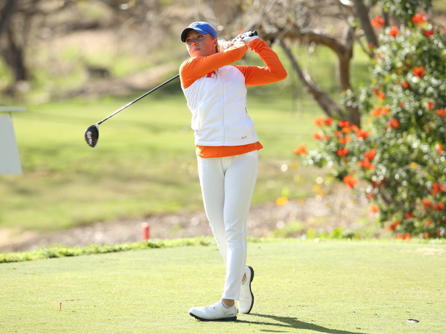 Sophomore Sierra Brooks paced Florida with an even par at the Liz Murphey Collegiate Classic over the weekend.