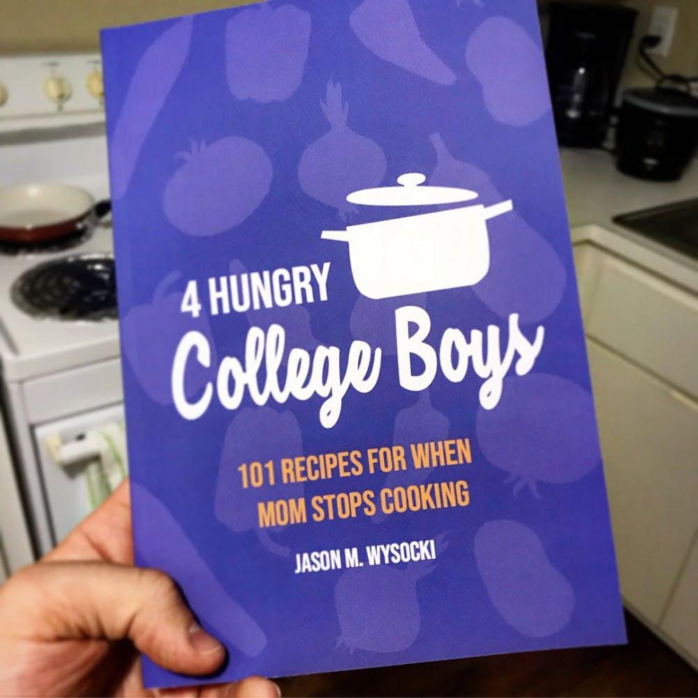 <p>The cover of Jason Wysocki's cookbook.</p>