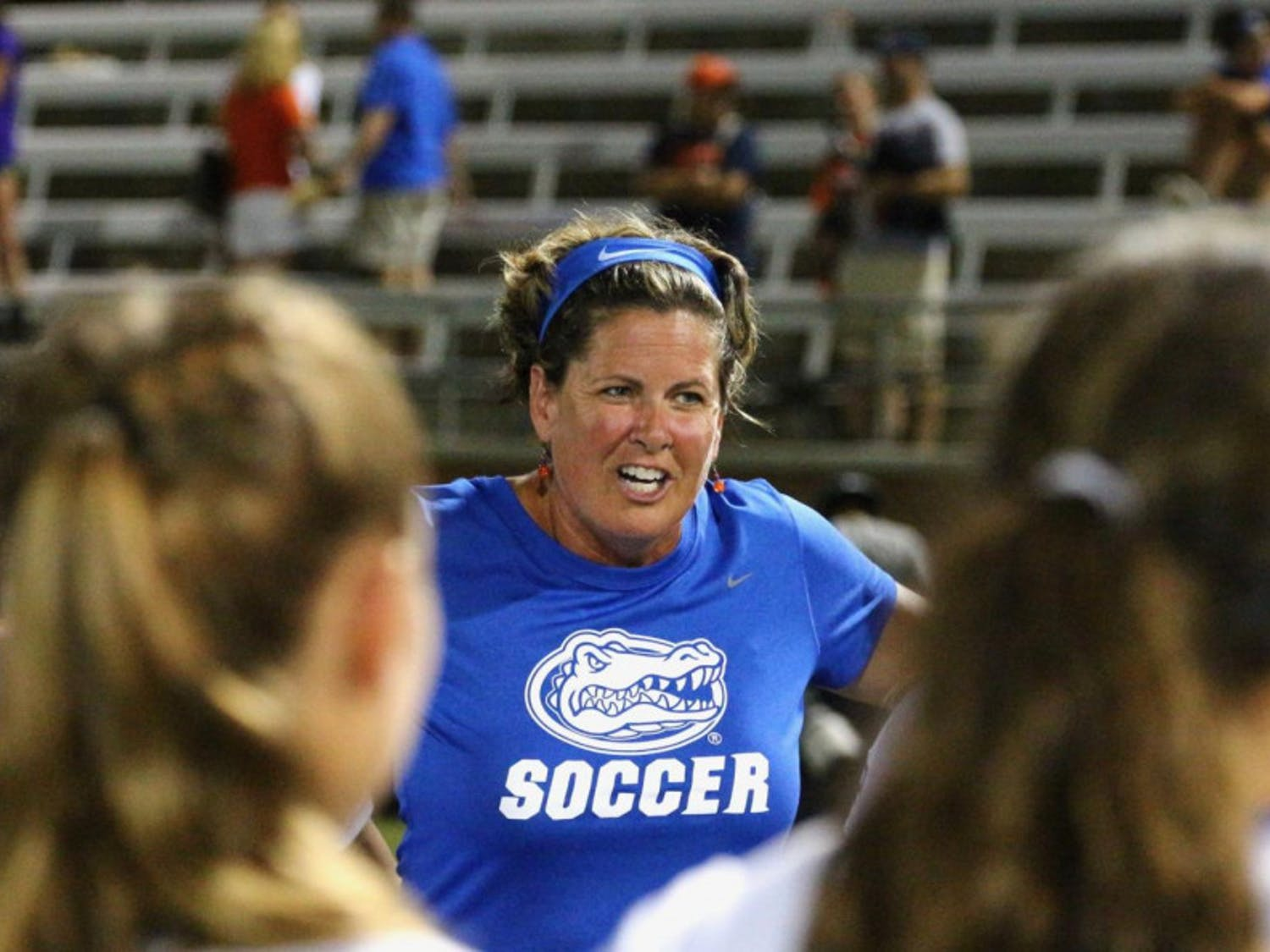 Gators coach Becky Burleigh made her return to in-person coaching this weekend when Florida played Kentucky on Friday and Missouri on Sunday. UF dropped both out-of-town games, extending its program record for consecutive losses to six.