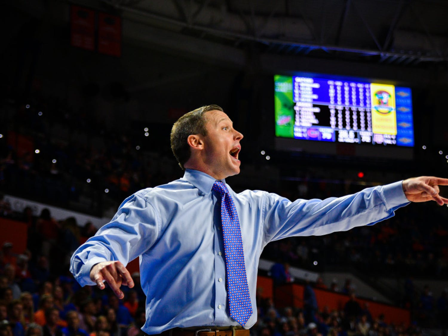 Coach Mike White has made three-straight NCAA Tournaments. With the highest-rated recruiting class he signed at UF, expectations are high.