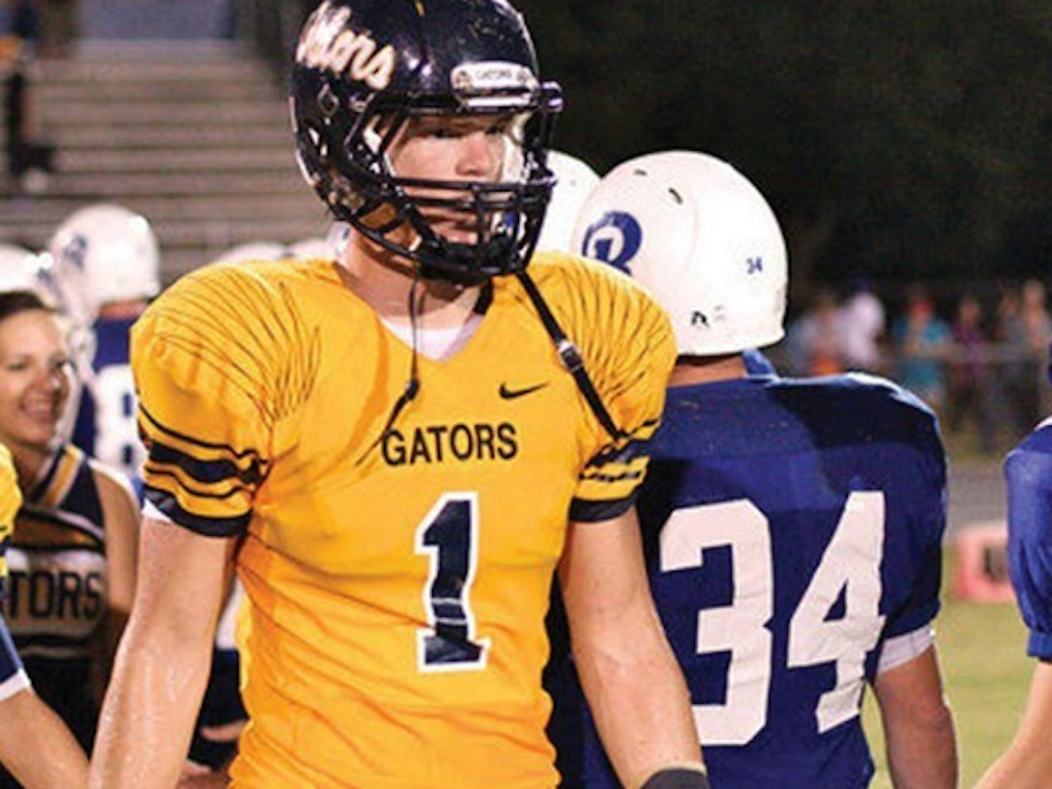 """Kent Taylor, the 2012 No. 1 rated tight end in the country by Rivals.com, hasn't yet narrowed his list of 30 offers to a top five. But the Land O' Lakes High standout said he is """"really high on Florida."""""""
