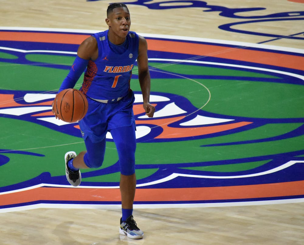 <p>Kiara Smith played the entire game and matched her career-high 27 points Thursday night.</p>