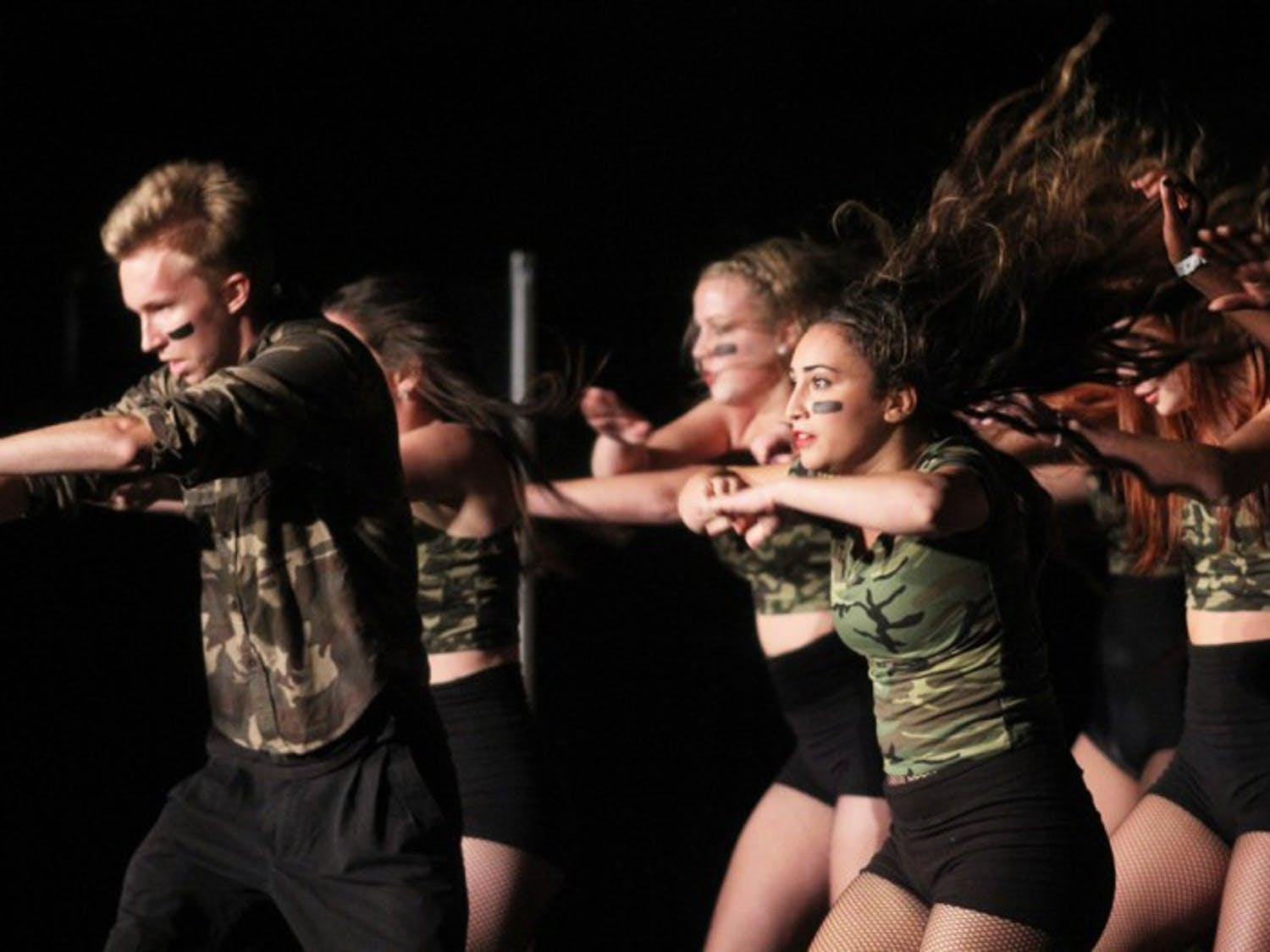 Danza wins first place in the dance category at Gator Growl Talent Night Wednesday night at the Reitz Union Grand Ballroom. The dance team will perform at Gator Growl Nov. 9.