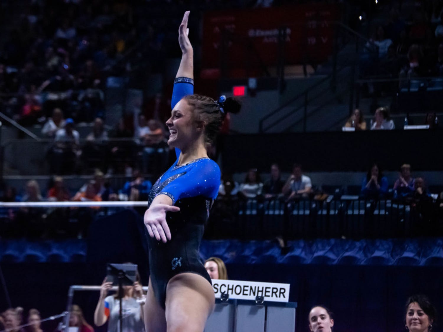 Florida's Savannah Schoenherr discussed her team's emphasis on staying calm ahead of a blockbuster showdown against No. 2 LSU on Friday