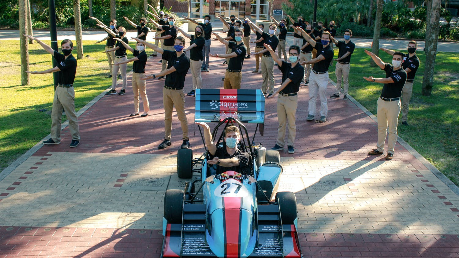 Gator Motorsports competes in the Formula SAE competition held annually at Michigan International Speedway in Brooklyn, Michigan.