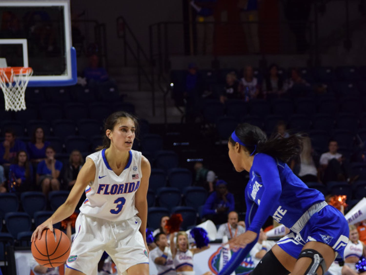 UF guard Funda Nakkasoglu sat out the final two games of the Savannah Invitational. She hopes to be back on the court against Jacksonville.