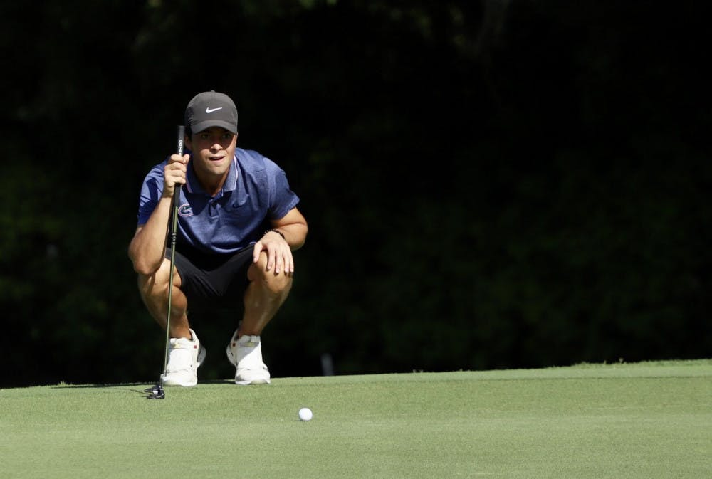 "<p>Redshirts sophomore Fred Biondi practices at Mark Bostick Golf Course. He'll travel to&nbsp;<span id=""docs-internal-guid-ee26b057-7fff-859a-a889-9c79d2ff47de""><span>Franklin, Tennessee, with the rest of the Gators squad this weekend for their second tournament of the 2020 season.&nbsp;</span></span><span id=""docs-internal-guid-ac7b62d8-7fff-3ca2-e9e4-8b0fb84edbbe""></span></p> <p><span id=""docs-internal-guid-ac7b62d8-7fff-3ca2-e9e4-8b0fb84edbbe""></span></p>"