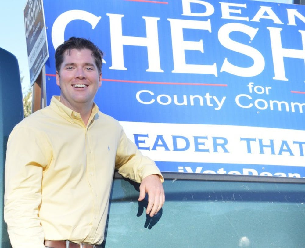 <p>Dean Cheshire graduated from UF with an undergraduate degree in political science and a master's of business administration. He said he hopes to bring a fiscally responsible student voice to the commission.</p>