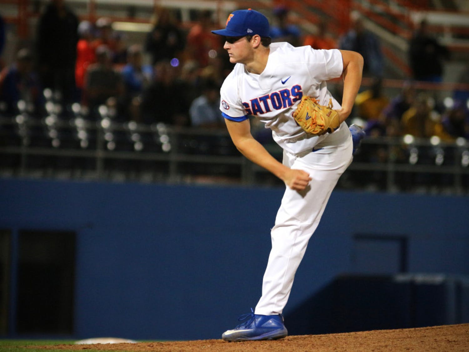 Tyler Dyson allowed three runs on four hits through 2.0-plus innings in Florida's 3-2 loss to Kentucky on Saturday. He didn't record a strikeout in his shortest outing of the season.