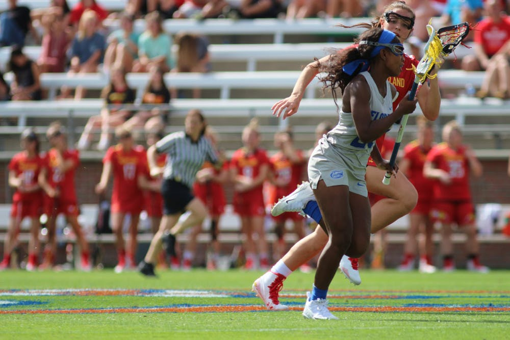 <p>Senior defenderAniya Flanagan forced three turnovers in Florida's win against Temple on Wednesday.</p>