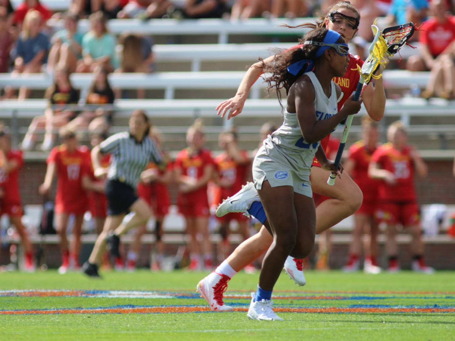 Senior defenderAniya Flanagan forced three turnovers in Florida's win against Temple on Wednesday.