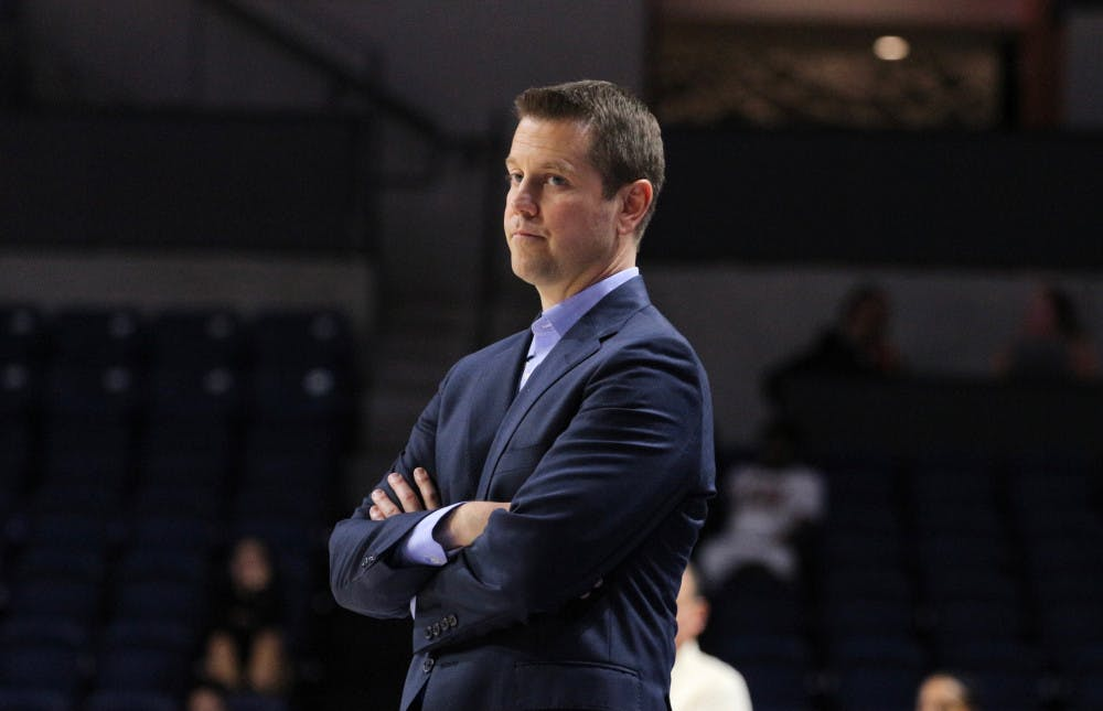 <p>Coach Cameron Newbauer completed his first season with an 11-19 record.</p>