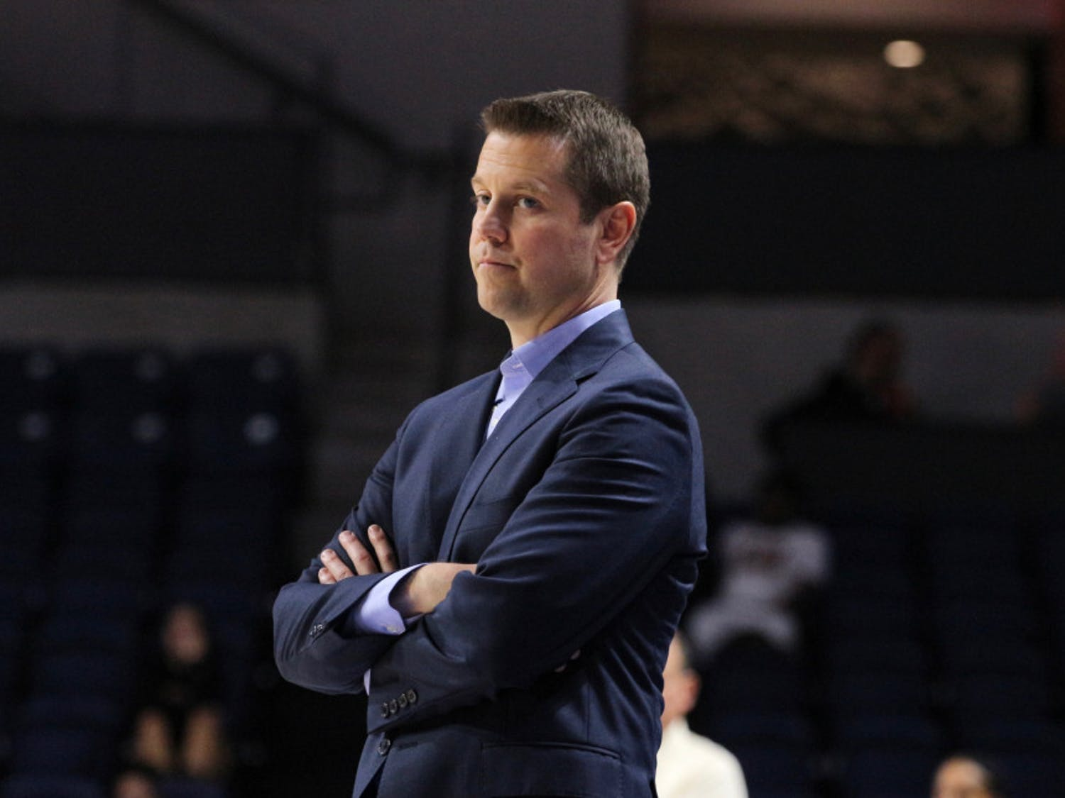 Coach Cameron Newbauer completed his first season with an 11-19 record.
