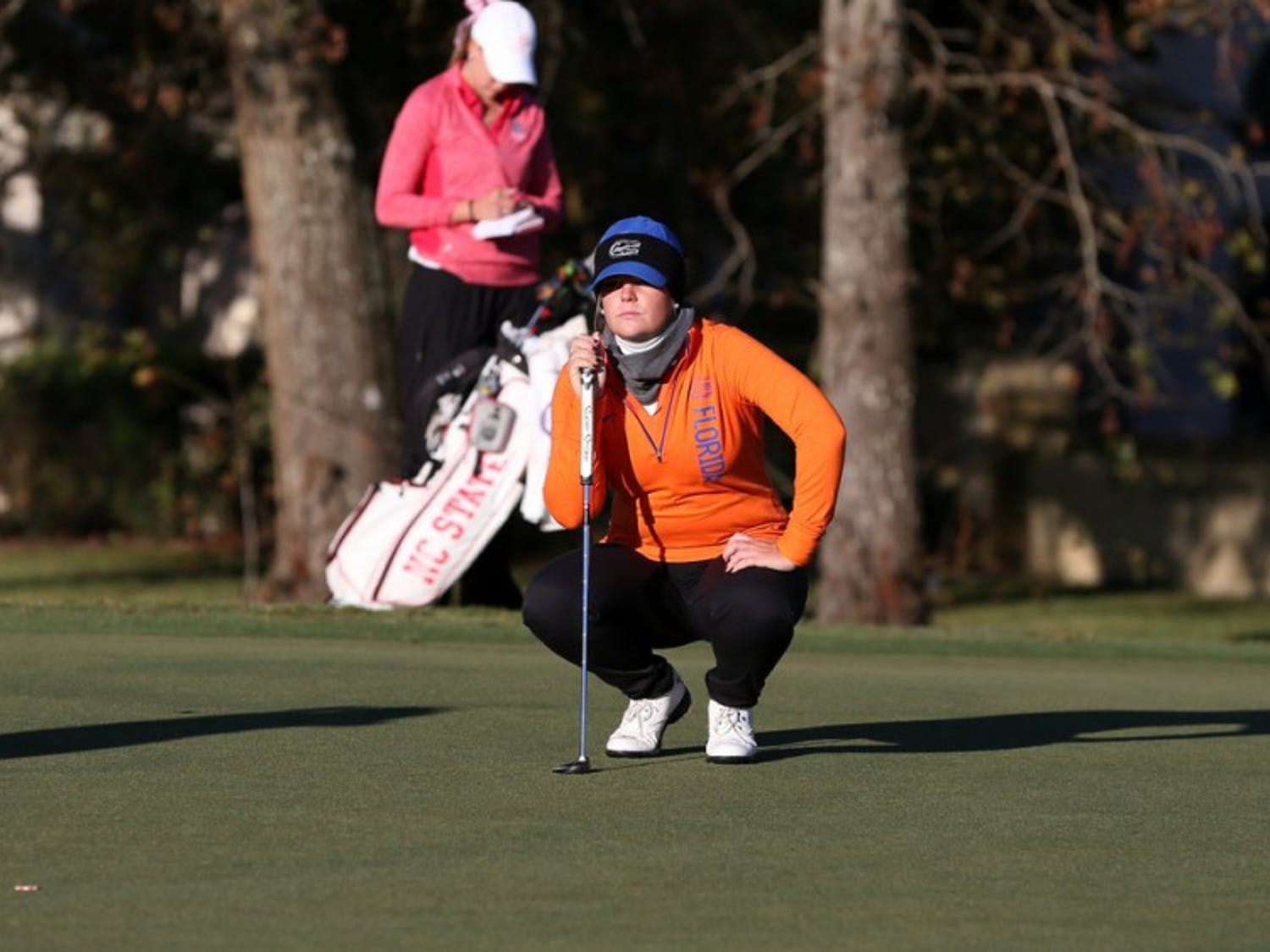 The Gators women's golf team finished 13th at the Landfall Tradition in North Carolina. Marta Perez had Florida's highest score at 3 over par, good for a share of 28th place.