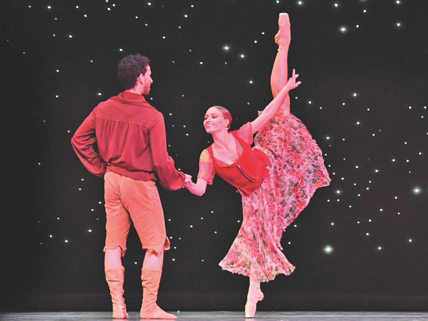 """Dance Alive National Ballet performed """"Robin Hood"""" at the Phillips Center for the Performing Arts this weekend. The ballet was choreographed by Kim Tuttle, the executive artistic director of the company."""