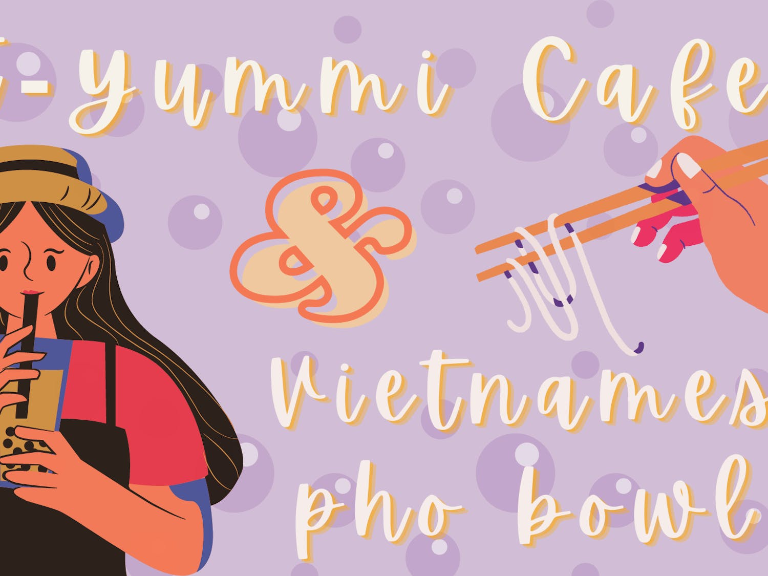 The cafe is locally owned by second-generation Vietnamese American My Duyen Ti Ho, and she is excited to bring banh mi, rice paper rolls,  phở and bubble tea to Gainesville.