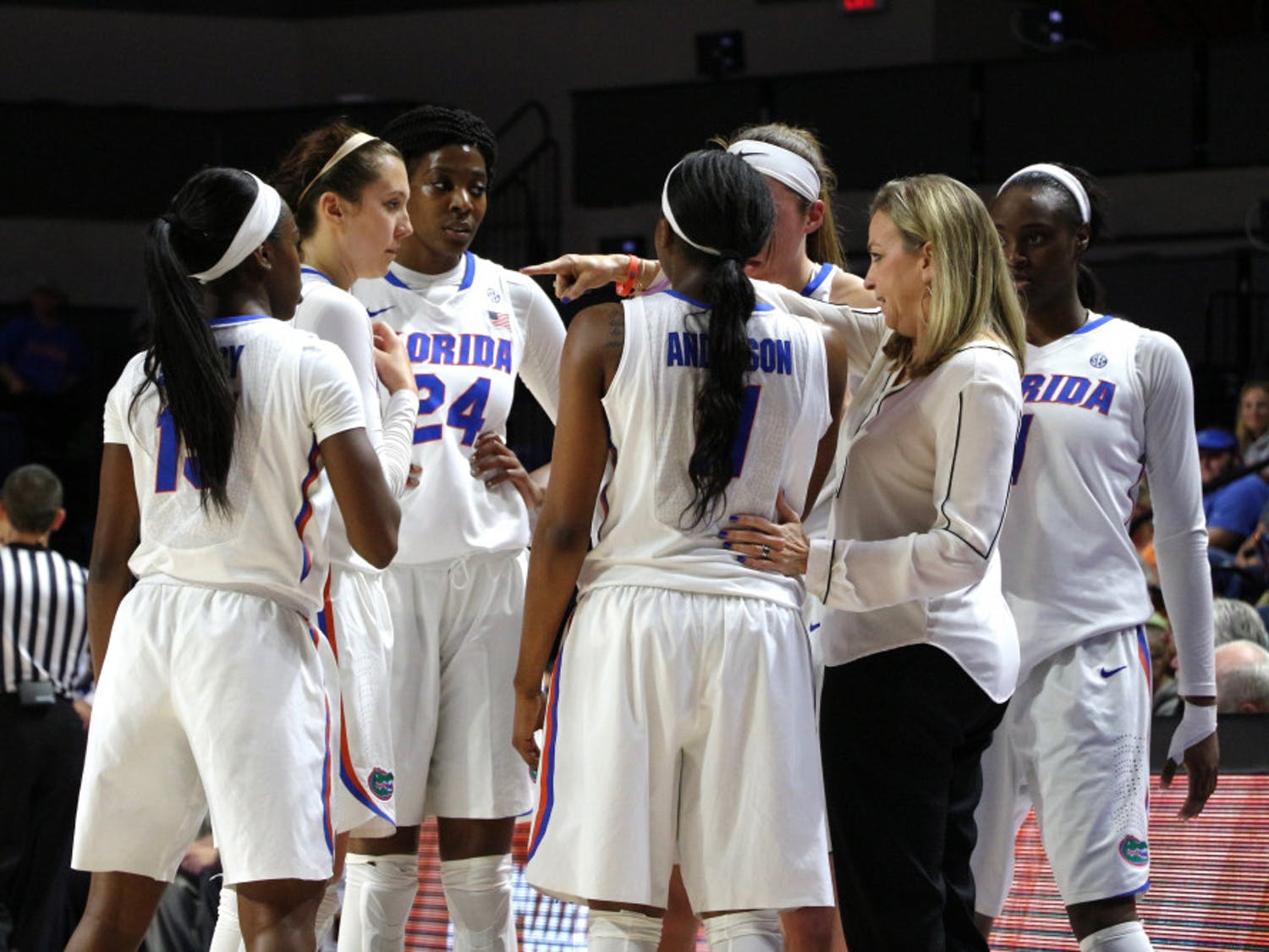 With just five days until their season opener, Florida's new women's basketball coach Cameron Newbauer said the Gators are focusing on putting themselves first and getting better each day.