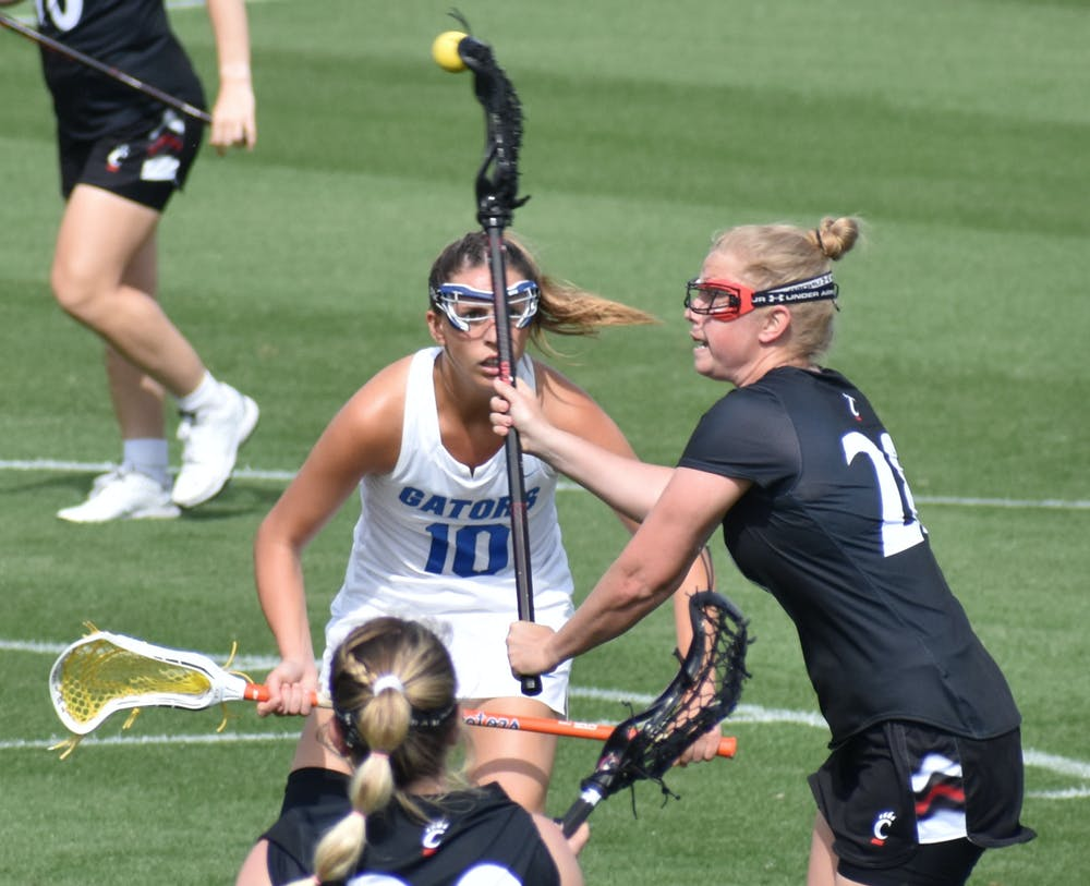 No. 12 Florida completed the sweep of Cincinnati with a 19-5 win. Photo from UF-Cincinnati game March 26.