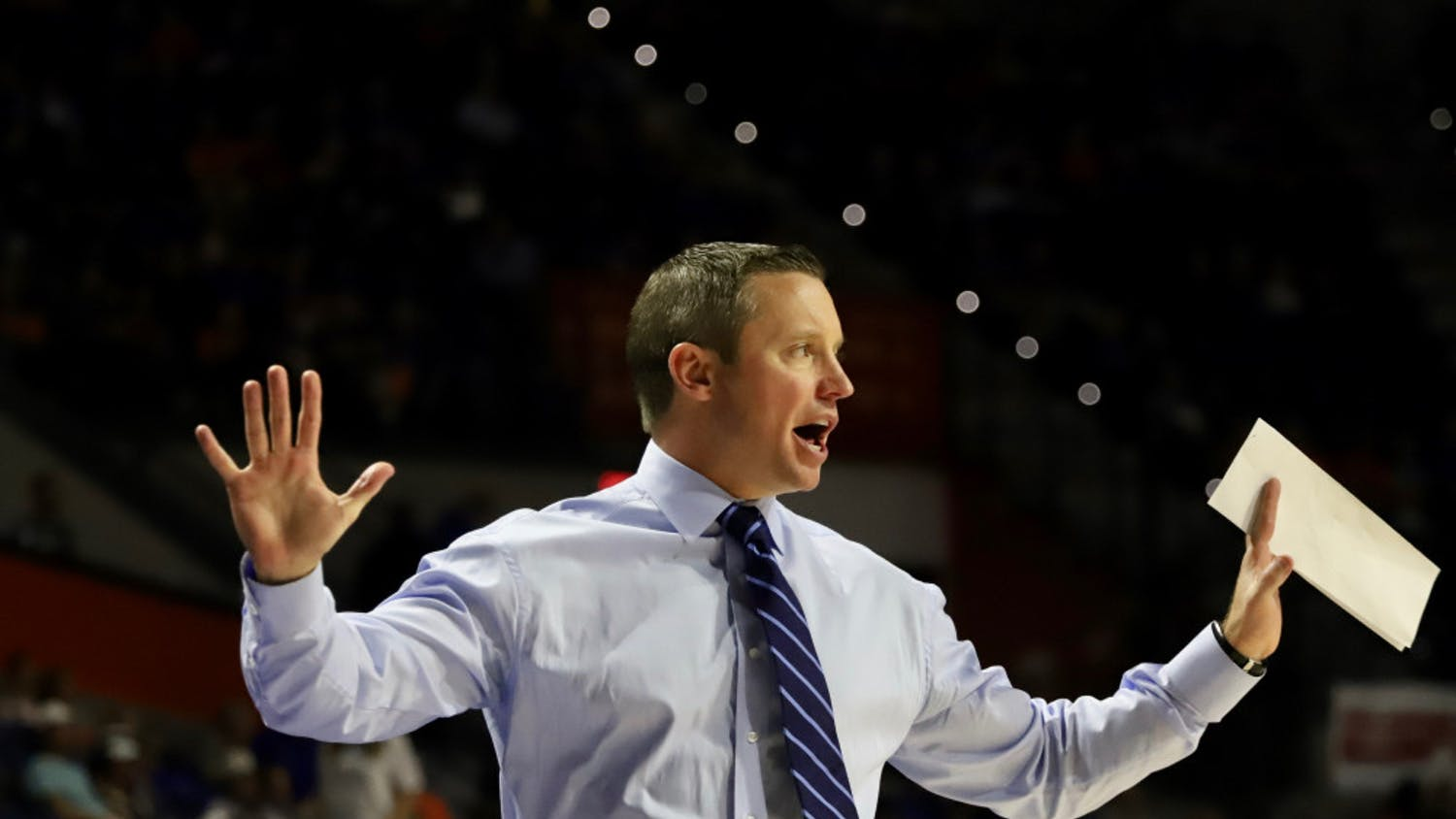 Gators coach Mike White is impressed with what he's seen from Boston College already this season. Florida will play the Eagles Thursday night at 9:30 p.m.