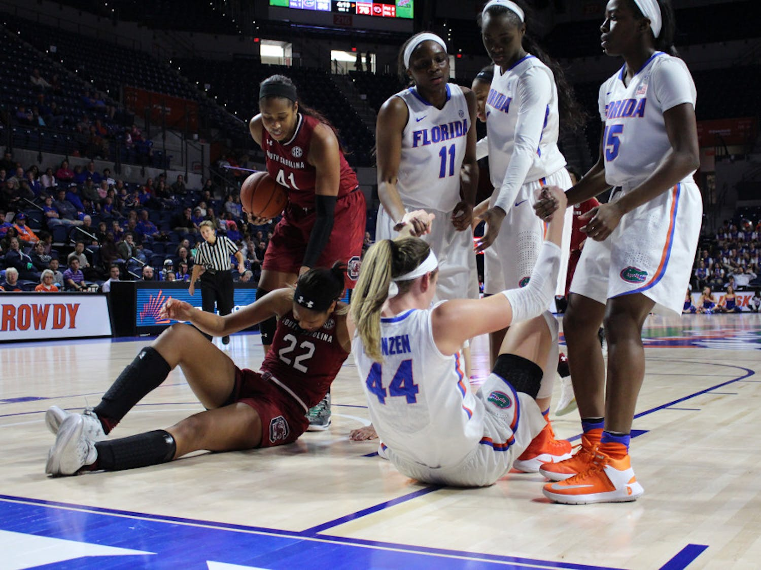 Nearly eight months after he was hired to replace ousted coach Amanda Butler, Cameron Newbauer is set to test his offensive game plan Saturday afternoon at 4 when the Gators women's basketball team takes on Georgia State at the O'Connell Center.