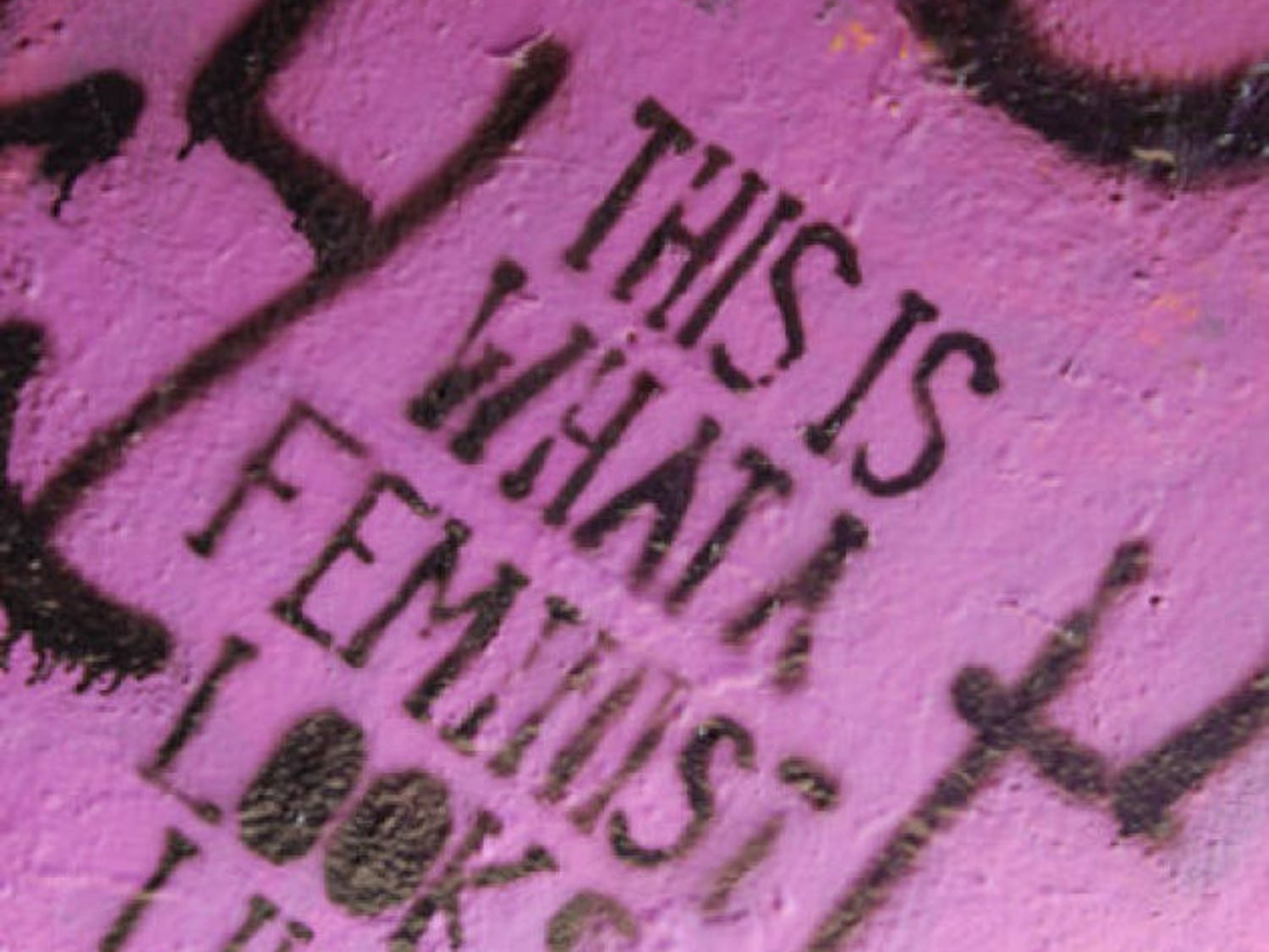 """""""Feminism or Vandalism?"""" by mbf2012, used under CC BY-NC-ND 2.0"""