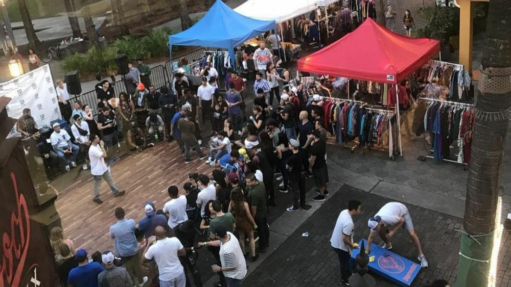 <p>The first Florida Vintage Market took place at Wall Street in downtown Orlando on Dec. 30, 2018. After its success, Gazzelli Sport Vintage owners decided to bring the event to Gainesville.</p>