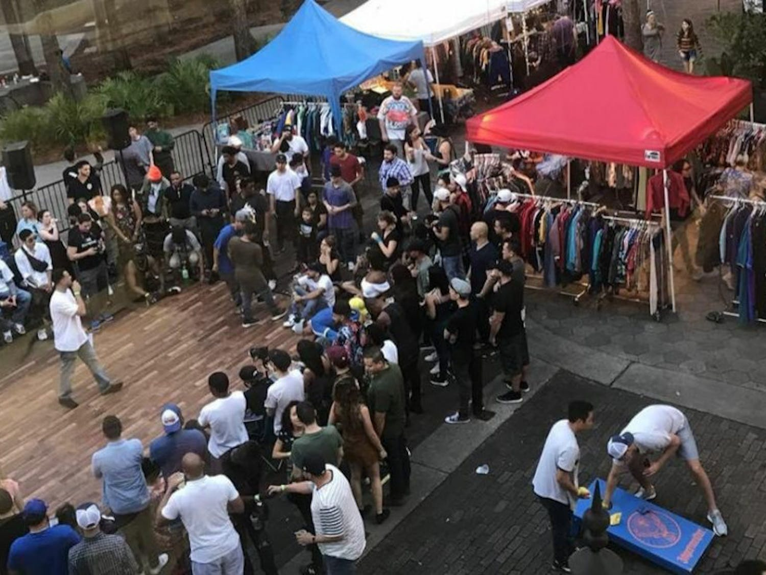 The first Florida Vintage Market took place at Wall Street in downtown Orlando on Dec. 30, 2018. After its success, Gazzelli Sport Vintage owners decided to bring the event to Gainesville.