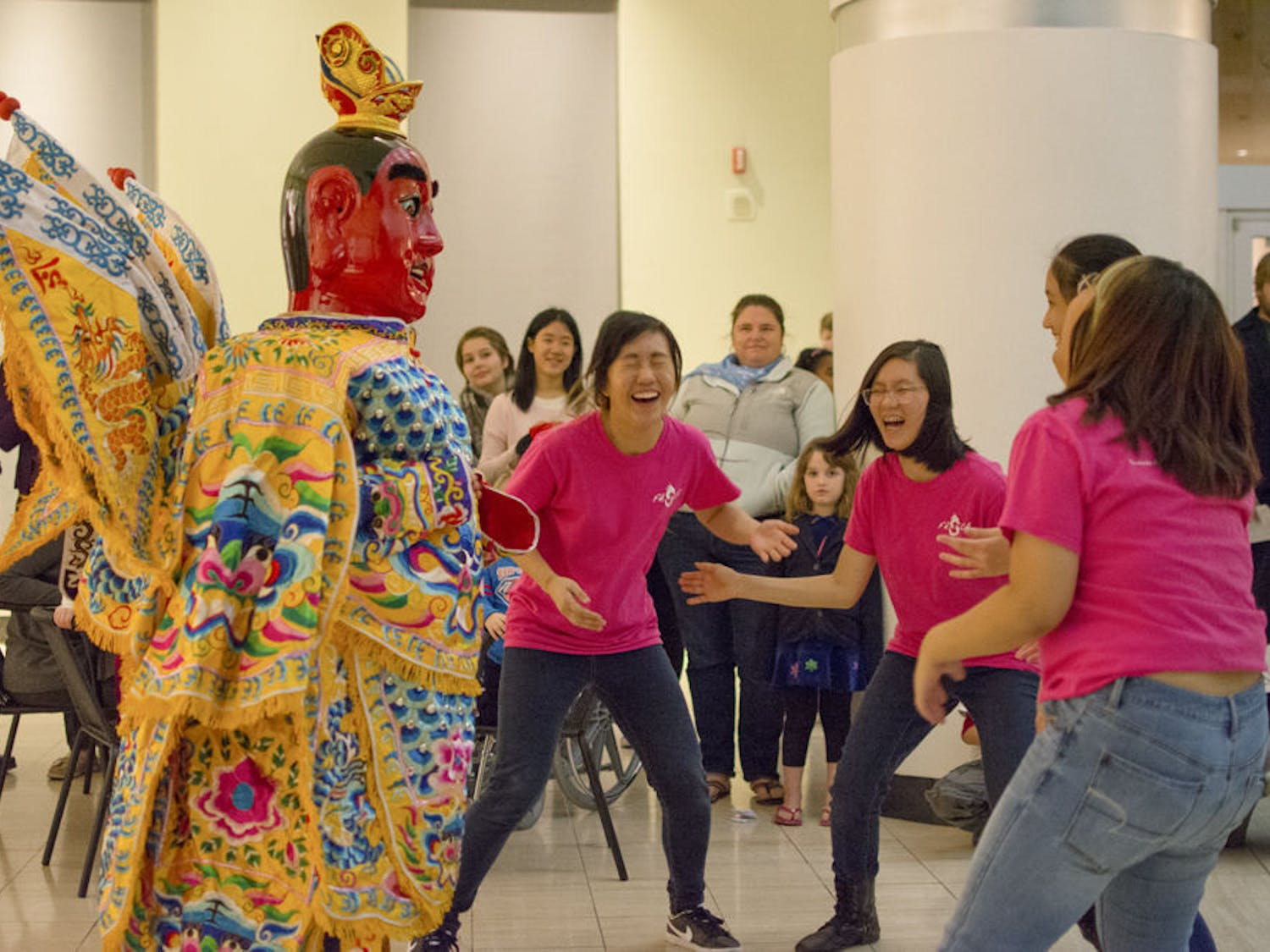 Asia or Bust: the celebration of Asian culture at UF's Harn Museum Thursday night.