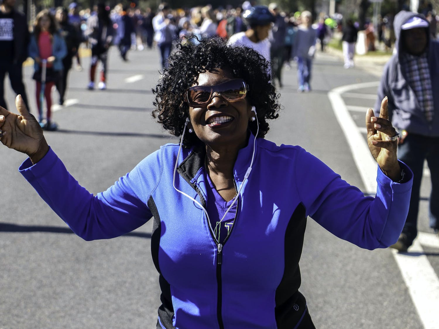 The Annual Commemorative March was one of nine events put on by the Martin Luther King Jr. Commission of Florida Inc. to honor its namesake. The march started at Bo Diddley Plaza at 1 pm on Monday, January 20 and ended in front of the King Center, the location of the last event.