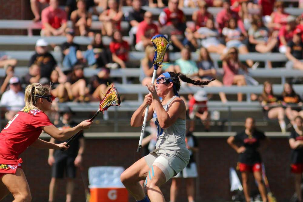"""<p><span id=""""docs-internal-guid-0eb4f3a0-24a2-beed-b0f0-61f75d4bf941""""><span>Midfielder Shannon Kavanagh tied her career high of four goals Tuesday against Navy. """"She came in clutch,"""" Gators coach Amanda O'Leary said.</span></span></p>"""